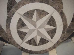 water jet medallion