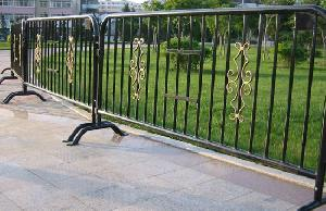 barricade fence