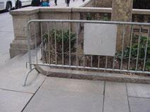 barricade fence usa