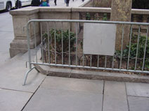 contemporary pedestrian barriers