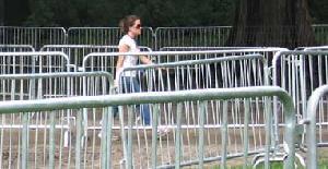 crowd control fencing usa