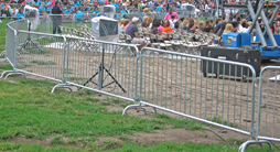 manufacturing crowd stopper barricades