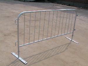 flat feet galvanized barricades qingdao yongchang