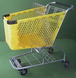 supermarket basket shopping trolley carts produced qingdao yongchang