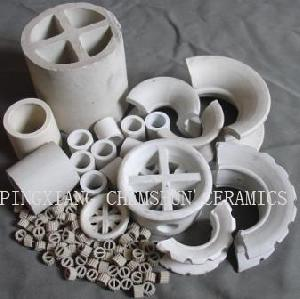 chemical random packings mat ceramic