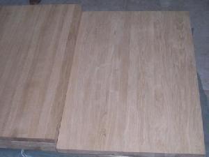 oak finger jointed edge glued panels