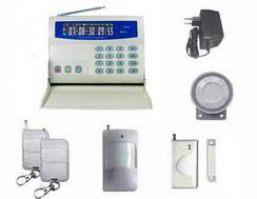 burlgar alarm system residential lcd display g20