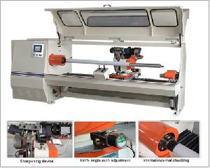 hc7001 log lathe adhesive tape slitting machine