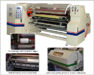 hcr8002 shaft exchange adhesive tape rewinding machine