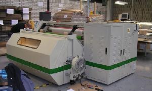 hcr8002 shafts exchange rewinder machine