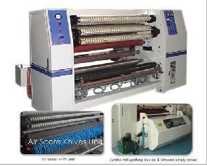 hcs2002 opp tape exchange slitting machine