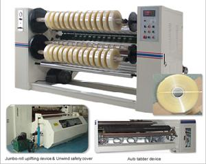 hcs2002c adhesive opp tape slitting machine