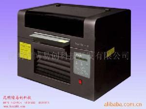 Glass, Wood, Metal, Garment Flatbed Printer