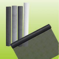 pvc coated window screen fiberglass