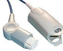 datex adult finger clip spo2 sensor silicone y