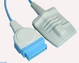 ge adult silicone soft tip spo2 sensor