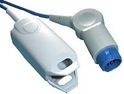 hp philips adult finger clip spo2 sensor