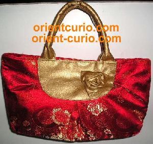 bg003 silk cushion handbags bags table runner antique furniture oriental curio asian