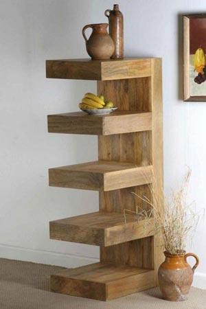 indian wooden bookcase exporter wholesaler india