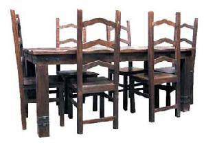 indian wooden dining manufacturer exporter wholesaler india
