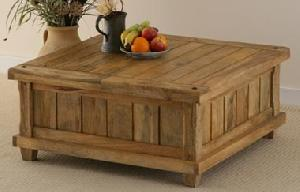 indian wooden trunk coffee table manufacturer exporter wholesaler india