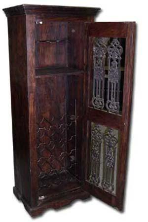 indian wooden wine cabinet manufacturer exporter wholesaler india