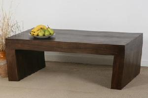 wooden angle coffee table manufacturer exporter wholesaler india