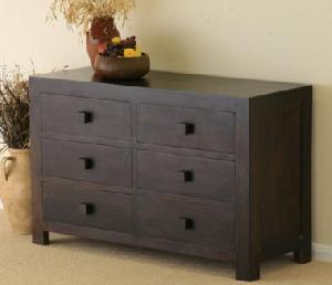 wooden chest six drawers manufacturer exporter wholesaler india
