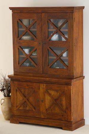 wooden hutch buffet manufacturer exporter wholesaler india