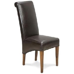 wooden leather mix chair manufacturer exporter wholesaler india