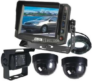 5 reversing camera system lcd backup tft monitor removable sun visor