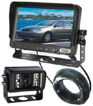 7 inches reversing camera system tft lcd mini ccd heating