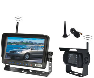 distributors vehicle rear view up camera system
