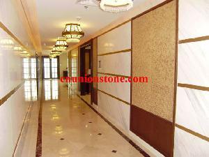 ariston marble wall tiles crema marfil floor doha hospital project
