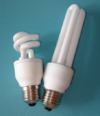 t3 lámpara cfl 3u mini espiral la luz fluorescente compacta bombilla de ahorro energía
