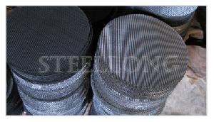 carbon steel wire mesh discs