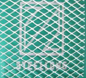 plastic coated expaned metal mesh