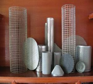 wire cloth metal filter perforated
