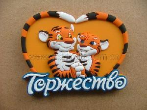 soft pvc fridge magnet cartoon