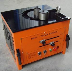 steel bar bender rod bending machine
