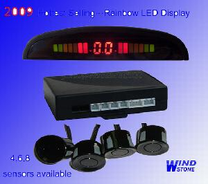 led digital display car parking sensor reverse rd 037c4