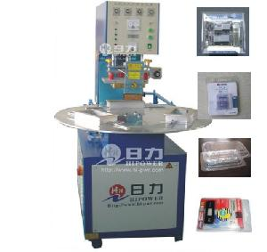 turntable frequency plastic welding machine blister packing