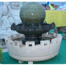 granite marble fountain ball