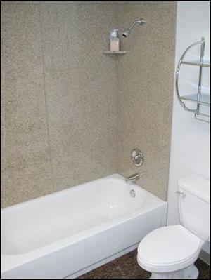 granite marble shower surround