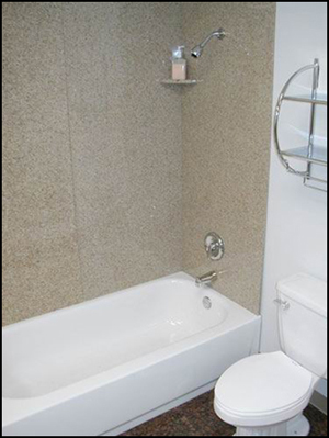 granite tub surrounds shower panel