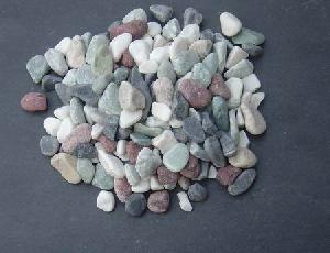 multicolour pebbles