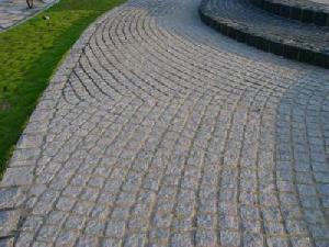 paving stone cobblestone grey g603