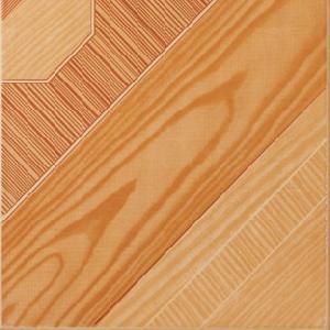 glazed tile floor