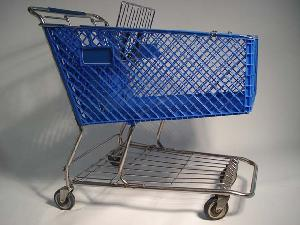 120l plastic shopping trolleys exporting qingdao yongchang