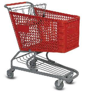 plastic basket shopping cart trolley hypermarkets